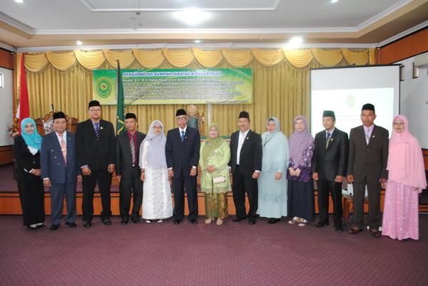 Foto Bersama ketua PTA & pejabat yang baru dilantik